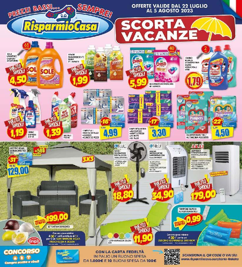 risparmio casa volantino nuove offerte e promozioni di roma e del